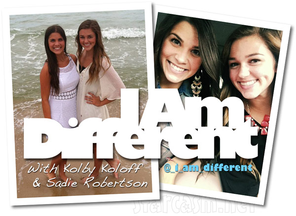 Kolby Koloff Sadie Robertson I Am Different