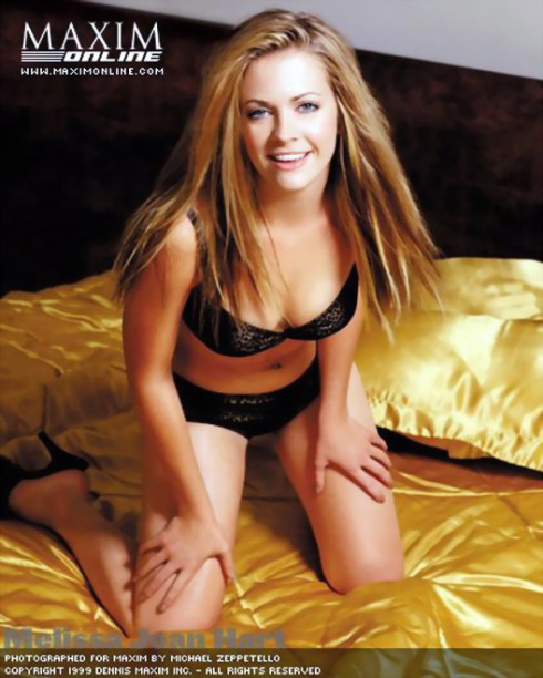 Melissa Joan Hart High during Maxim October 1999