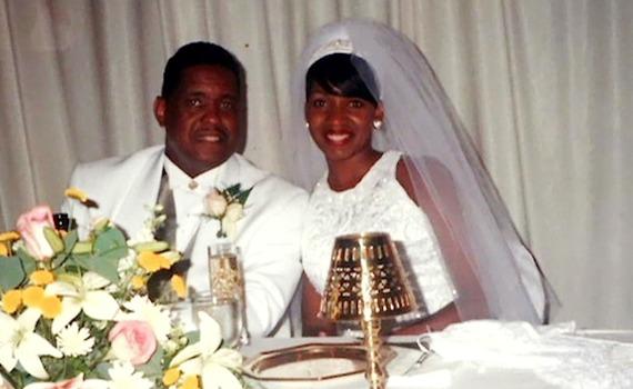 photos flashback to nene leakes first wedding to gregg leakes