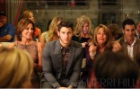 Countess LuAnn de Lesseps and Nick Jonas at Sherri Hill runway show Spring Collection 2014 MBFW