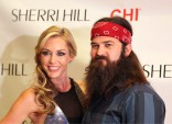 Jessica Robertson Jep Robertson Sherri Hill runway show MBFW Spring Collection 2014