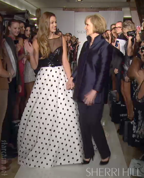 Duck Dynasty's Sadie Robertson and designer Sherri Hill