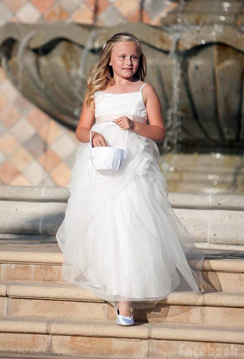 Tamra Barney's daughter Sophia was a flower girl at her wedding