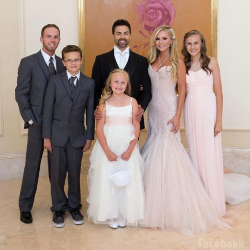 Tamra Judge family photo with Ryan, Spencer, Sophia, Eddie Judge, Tamra Judge, and Sidney