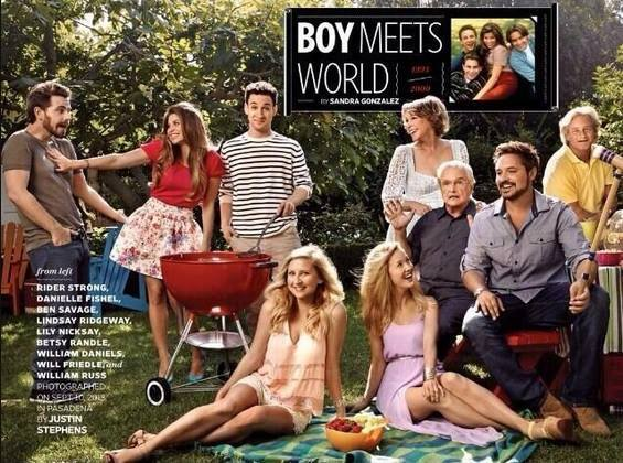 PHOTOS Boy Meets World reunion  real-life wedding details for two of    Boy Meets World Reunion Topanga