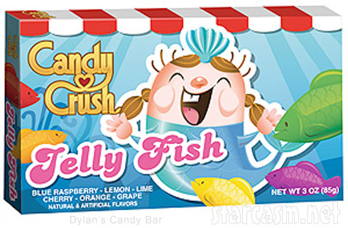 Real Candy Crush Saga candy Jelly Fish