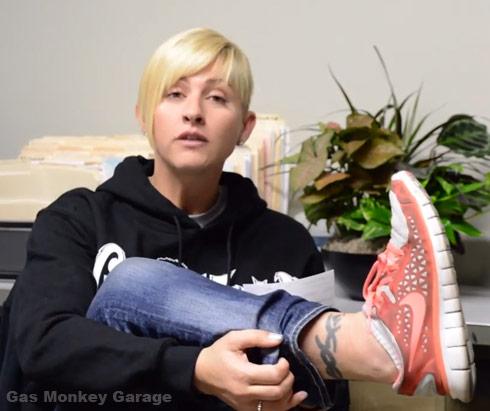 Christie Brimberry Gas Monkey Garage