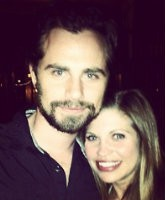 Danielle Fishel and Rider Strong Feature
