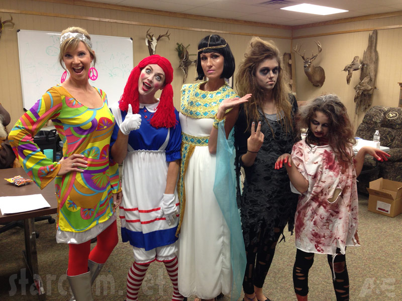 Duck Dynasty Halloween special episode costume photos