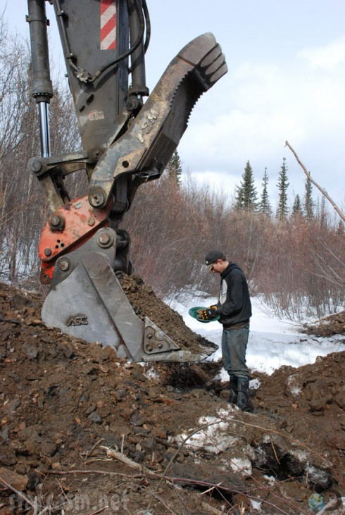 Gold Rush Season 4 Parker Schnabel digging