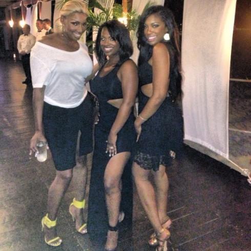 Kandi Burruss wedding Cancun_NeNe Leakes Porsha Stewart