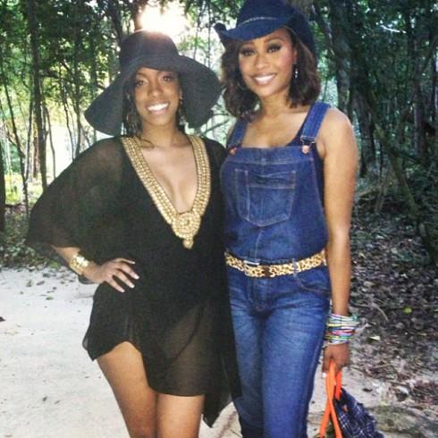 Kandi Burruss edding Cancun_Porsha Stewart Cynthia Bailey
