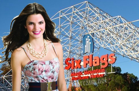 Kendall Jenner Six Flags Magic Mountain Birthday