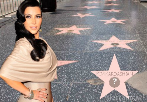 Kim Kardashian - Hollywood Walk of Fame - Ineligible