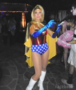 Kim Richards Wonder Woman costume 2013 from Facebook