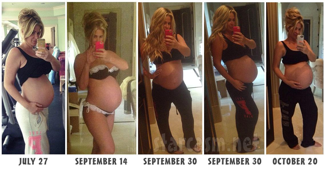 Kim Zolciak Twin Babies