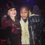 Kyle Richards and Kyle Massey Halloween 2013