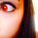 Kyle Richards daughter Sophia Umansky red eye for Halloween
