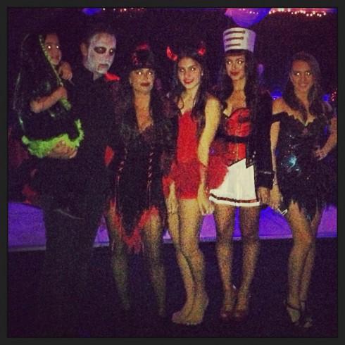 Kyle Richards family Halloween 2013