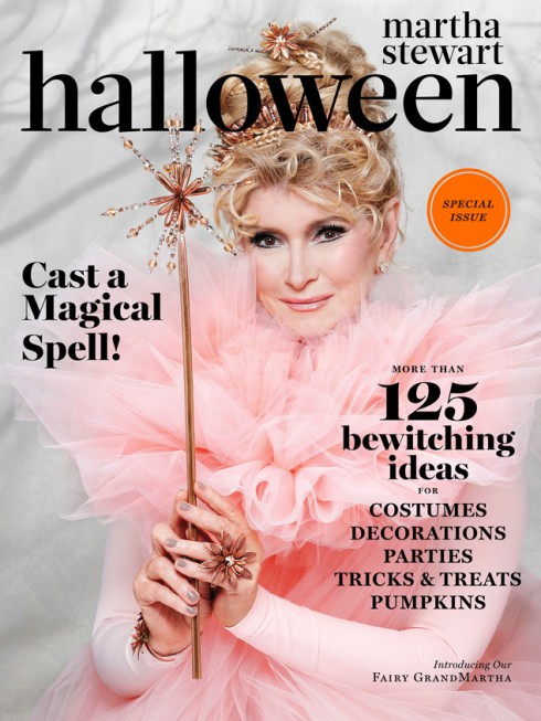 Martha Stewart Living Halloween 2013 issue cover Fairy GodMartha