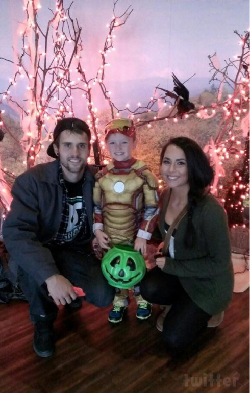 Ryan Edwards Bentley Shelby Woods Halloween 2013 Iron Man