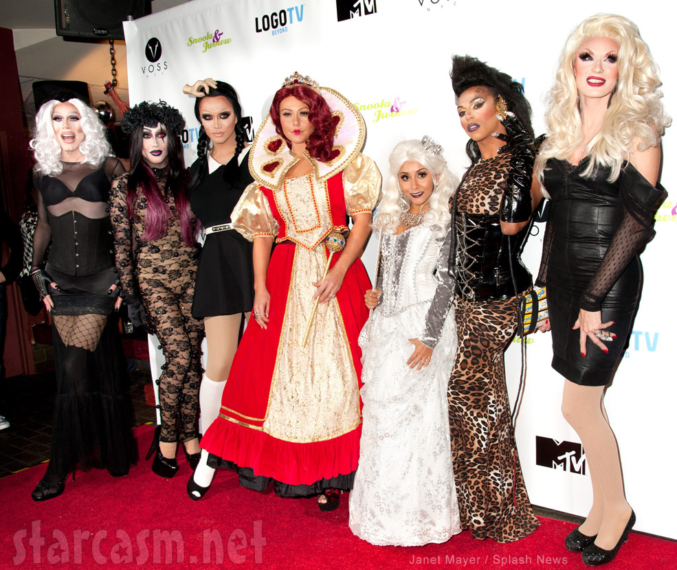 PHOTOS Snooki and JWoww Halloween costumes 2013 Alice in ...
