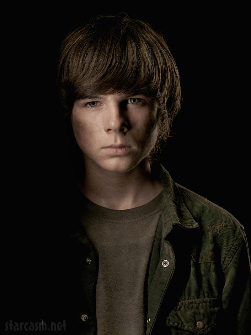 Portrait The Walking Dead Walking Dead Carl