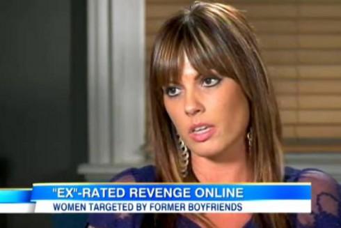 Victim of revenge p0rn