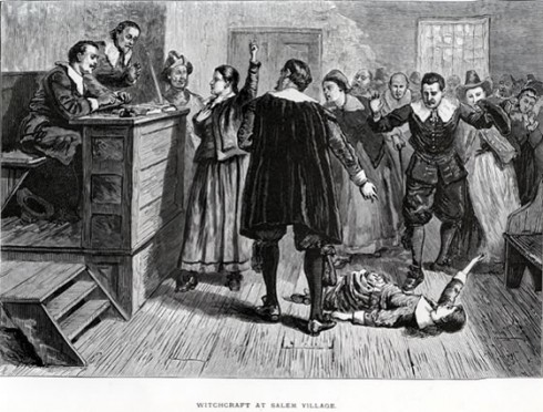 How many people died in the Salem Witch Trials? How did they begin?