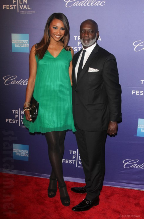 Cynthia Bailey and husband Peter Thomas