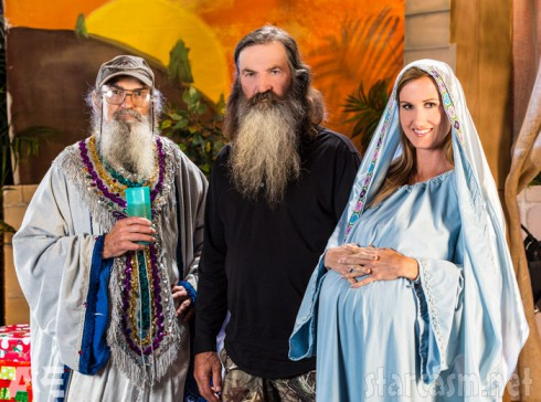 Duck Dynasty Christmas Special Uncle Si Phil Korie Robertson