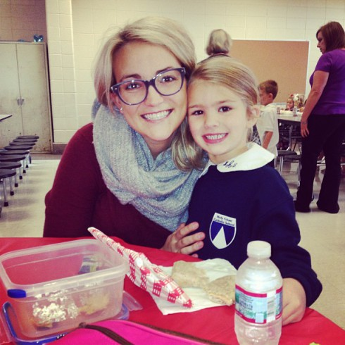 Jamie Lynn Spears with daughter Maddie November 2013