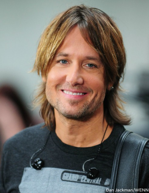 Keith Urban - New Haircut