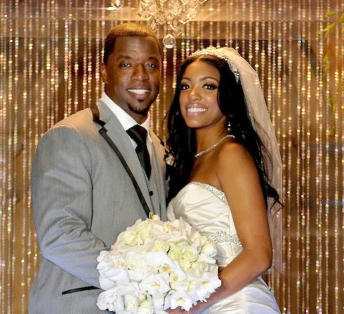 Kordell Stewart Porsha Williams wedding photo