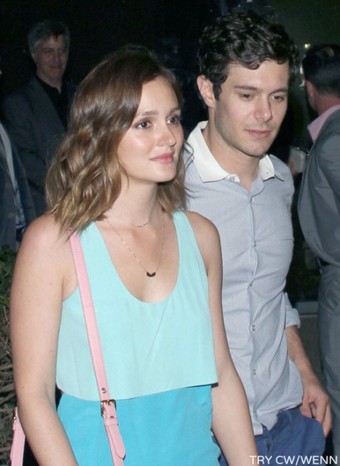 Leighton Meester - Adam Brody Engaged