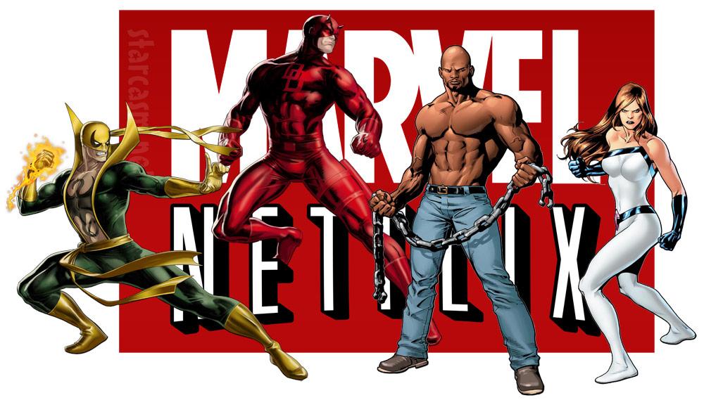Netflix And Marvel Sign 4 Series Deal Daredevil Luke