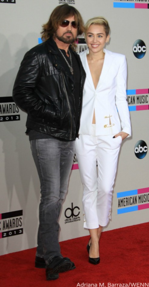 Miley Cyrus AMAs - Billy Ray Cyrus