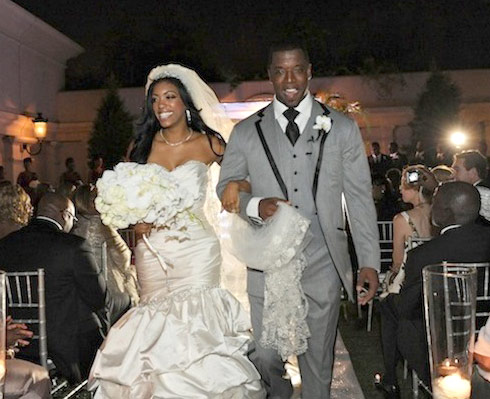 Porsha Williams Kordell Stewart wedding photo