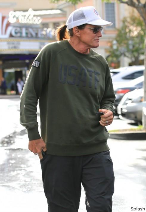 Bruce Jenner Ponytail