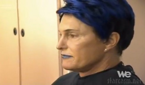 Bruce Jenner in drag for The Hungover Games