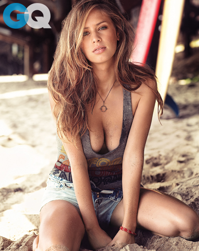 Dylan Penn - GQ January 2014