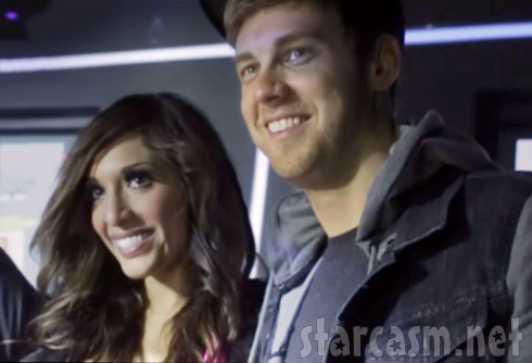 "Farrah Abraham and ""boyfriend"" DJ Brian Dawe together"