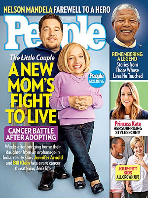 Jen Arnold - Bill Klein - The Little Couple - Cancer