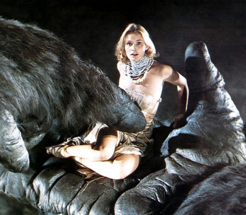 Jessica Lange Color King Kong