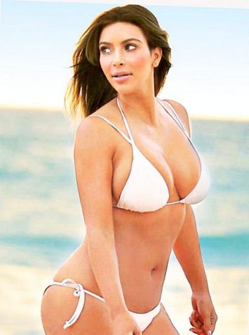 Kim kardashian bikini body