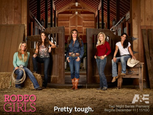 A&E Rodeo Girls cast photo