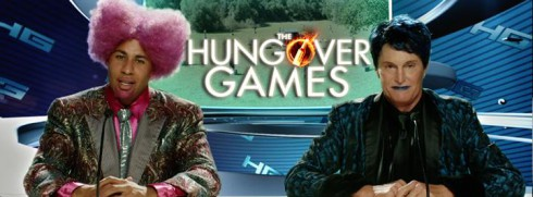 The Hungover Games Hank Baskett Bruce Jenner in drag