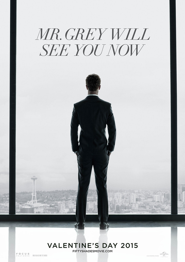 Photo 50 shades of grey movie poster revealed for 50 shades of grey films
