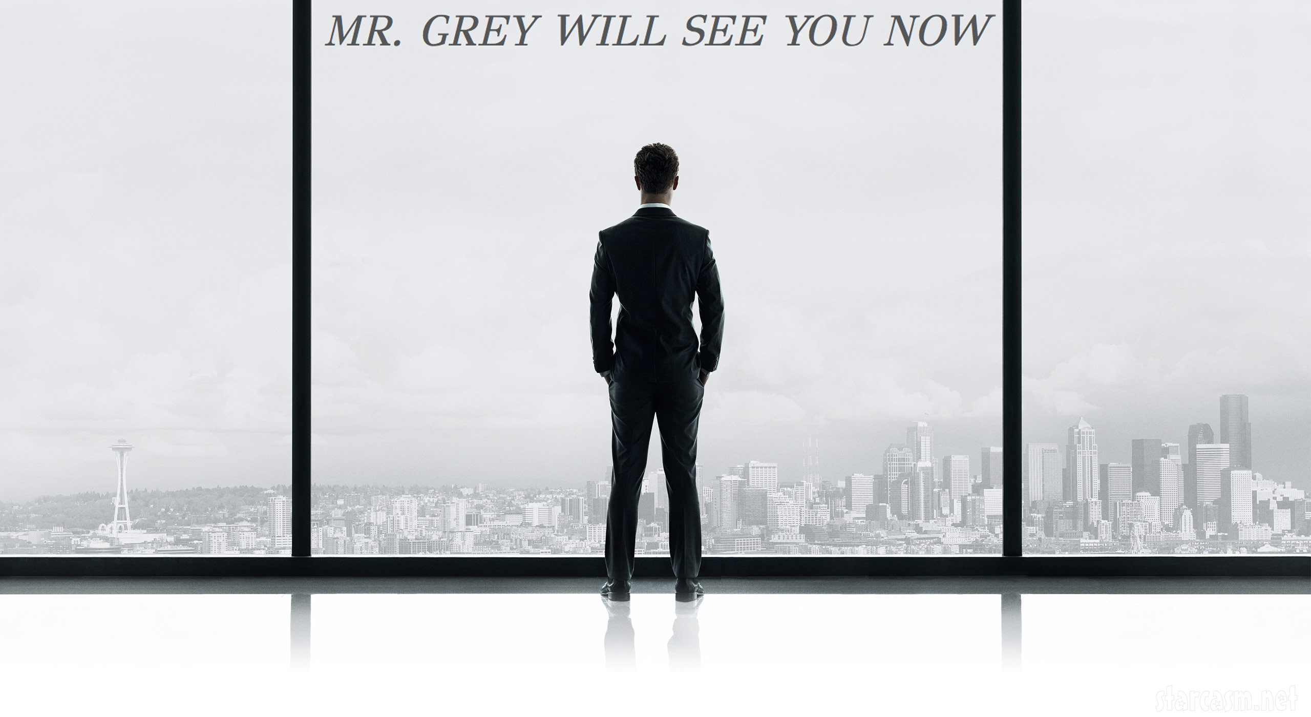 photo 50 shades of grey movie poster revealed. Black Bedroom Furniture Sets. Home Design Ideas