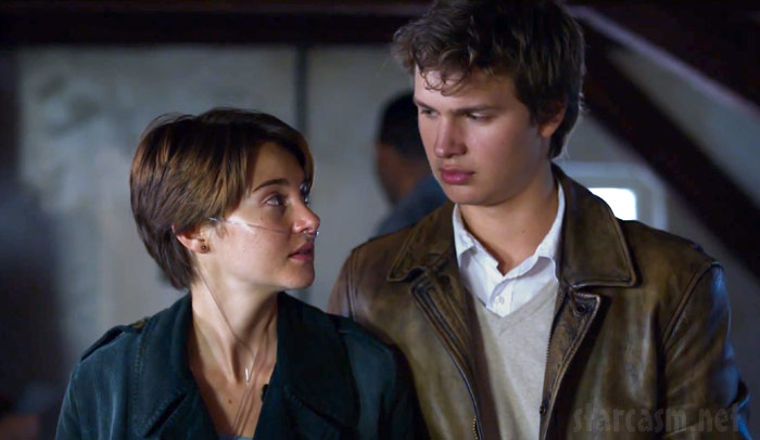 Hazel and Augustus The Fault in Our Stars